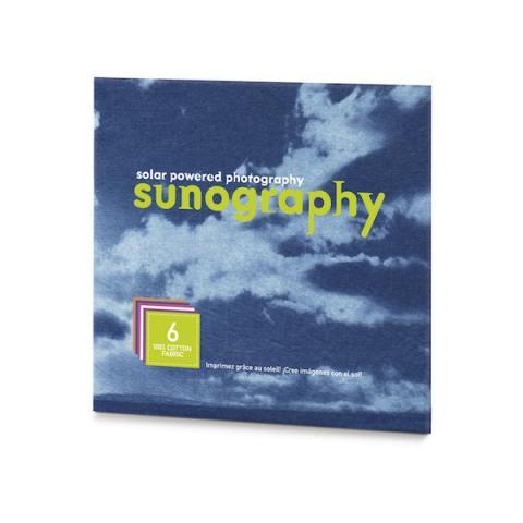 Sunography light sensitive photography fabric kit (6 sheets)
