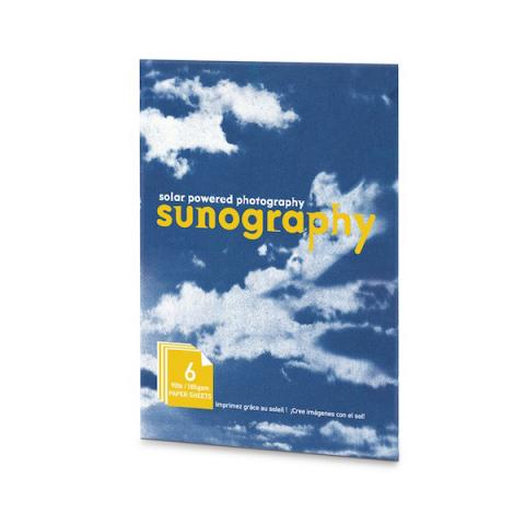 Sunography light sensitive photography paper kit (6 sheets)