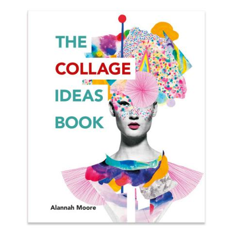 The collage ideas book (paperback)
