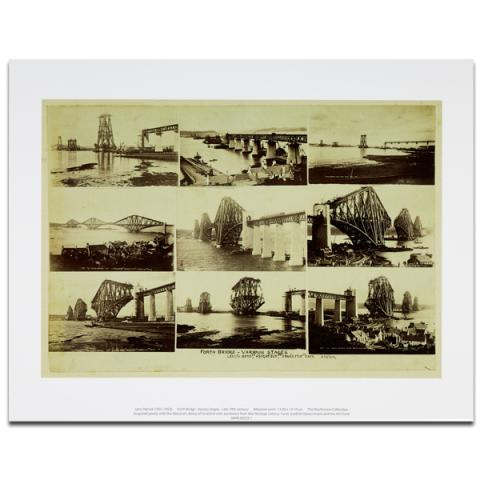 The Forth rail bridge art print