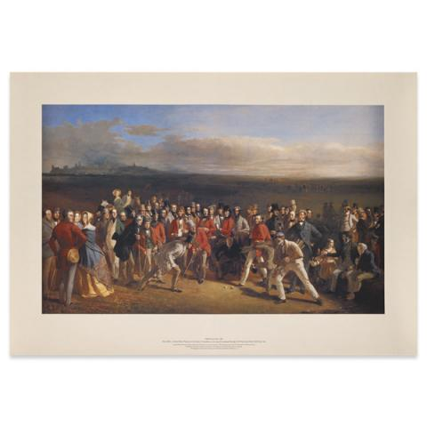 The Golfers by Charles Lees poster print