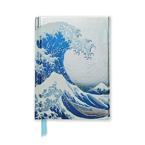 The Great Wave Katsushika Hokusai Pocket Notebook