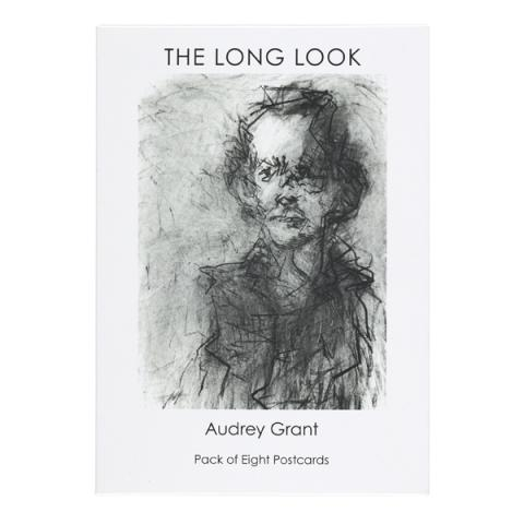 The Long Look by Audrey Grant postcard pack