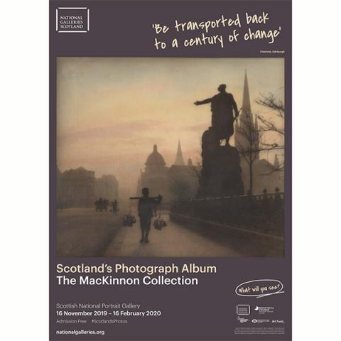 Scotland's Photograph Album | The MacKinnon Collection exhibition poster