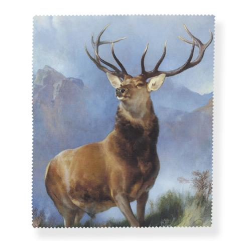 The Monarch of the Glen by Edwin Landseer lens cloth