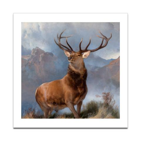 The Monarch of the Glen by Edwin Landseer poster print