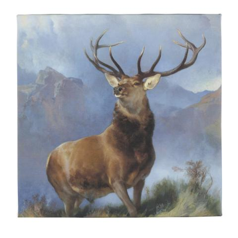 The Monarch of the Glen by Edwin Landseer ready to hang canvas print