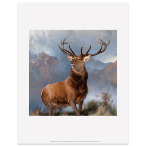 The Monarch of the Glen by Sir Edwin Landseer art print