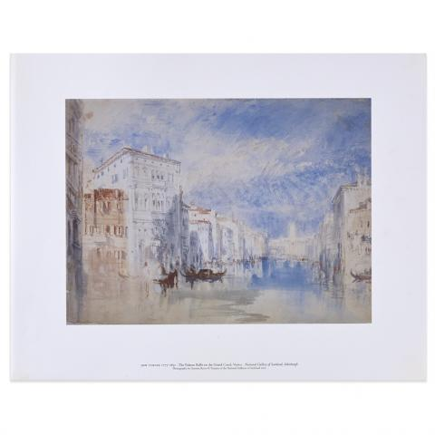The Palazzo Balbi on the Grand Canal Venice by Joseph Mallord William Turner art print