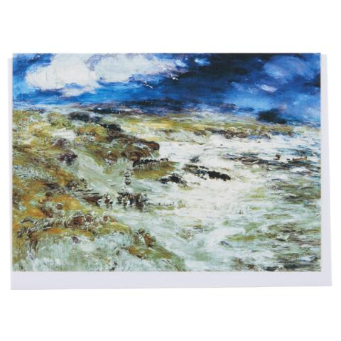 The Storm by William McTaggart greeting card