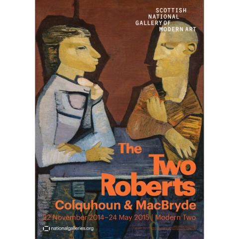 The Two Roberts Exhibition Poster