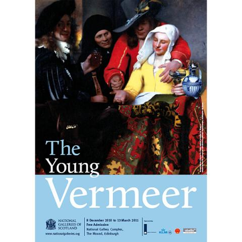 Young Vermeer Exhibition Poster