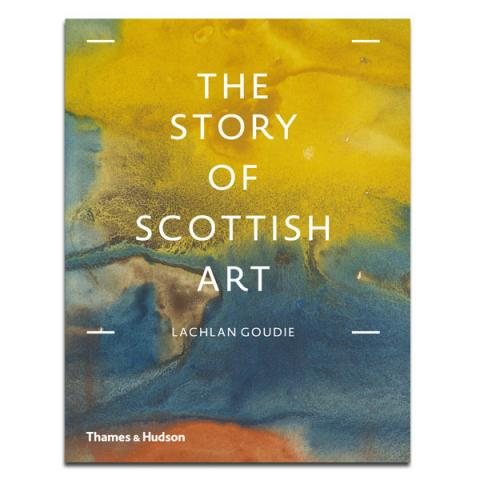 The story of Scottish Art by Lachlan Goudie (hardback)