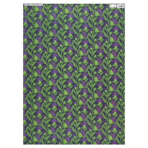 Thistle gift wrap (single sheet)