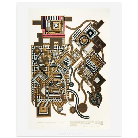 Tortured Life by Eduardo Paolozzi art print