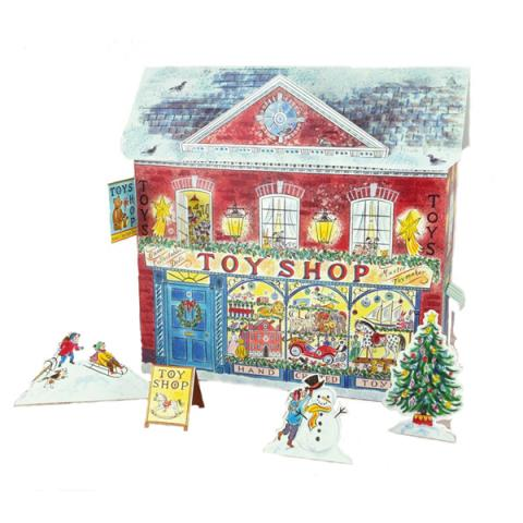 Toy shop advent calendar