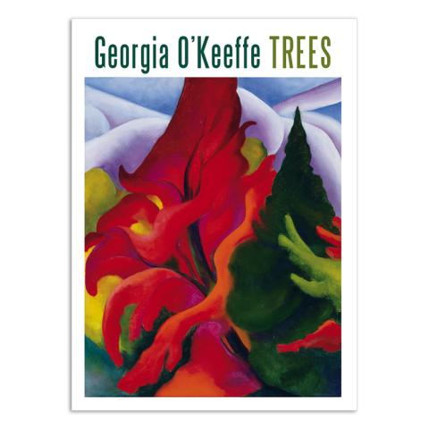 Trees by Georgia O'Keeffe notecard box (20 cards)