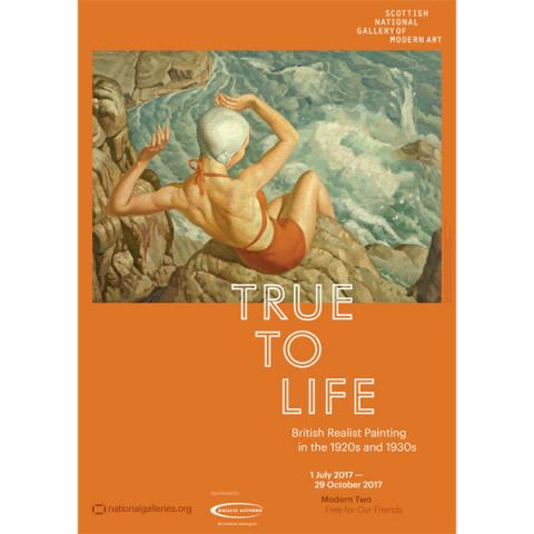 True to Life Spray Harold Williamson Exhibition Poster