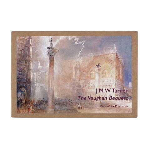 Joseph Mallord William Turner postcard pack (6 postcards)