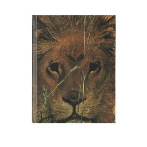 Una and the Lion by William Bell Scott address book
