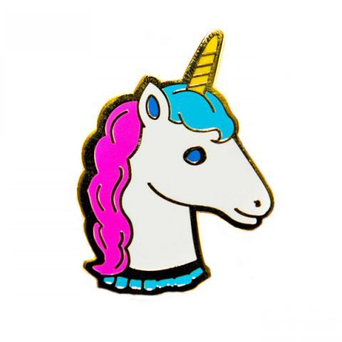 Acorn & Will Unicorn Enamel Pin