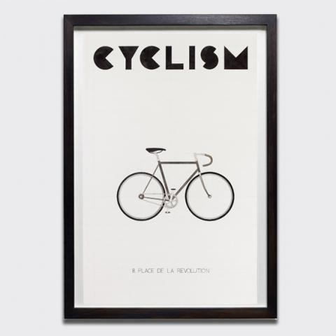 Untitled (Cyclism), 2018 by Charles Avery limited edition screen-print