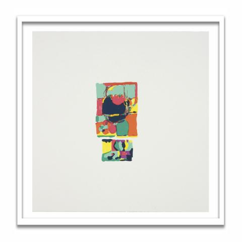 Untitled by Victoria Morton framed limited edition screen-print