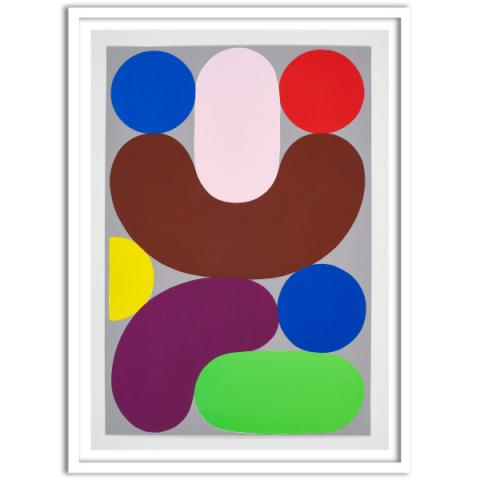 Untitled (Jar of Fruits), 2020 by Charles Avery limited edition screen-print