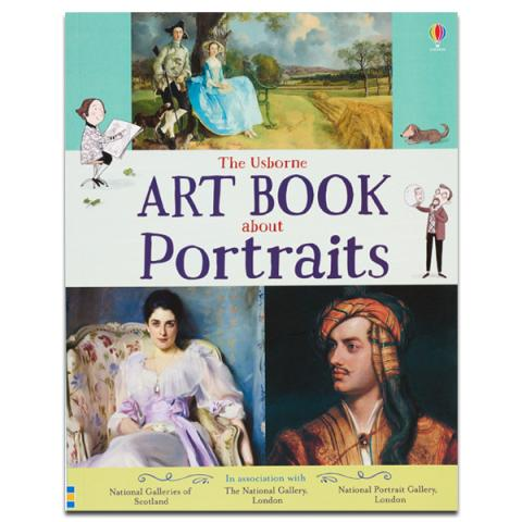 The Usborne art book about portraits (paperback)