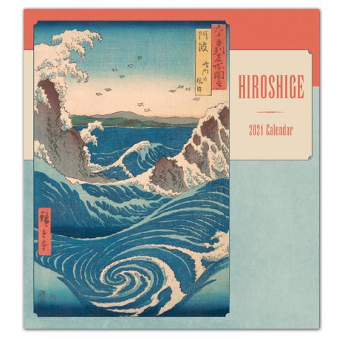 Utagawa Hiroshige 2021 wall calendar