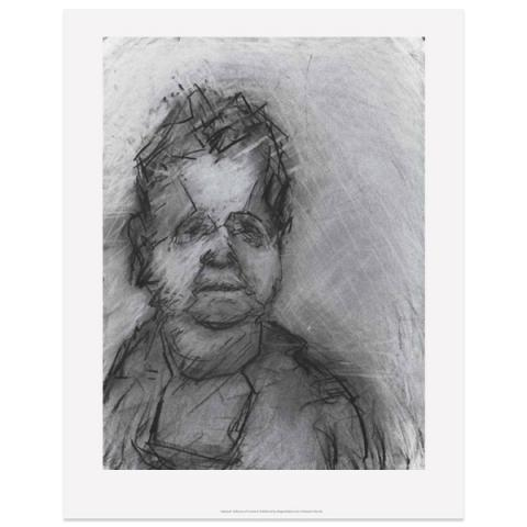 Val McDermid II by Audrey Grant A3 print