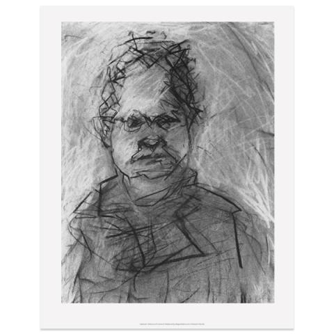 Val McDermid I by Audrey Grant A3 print