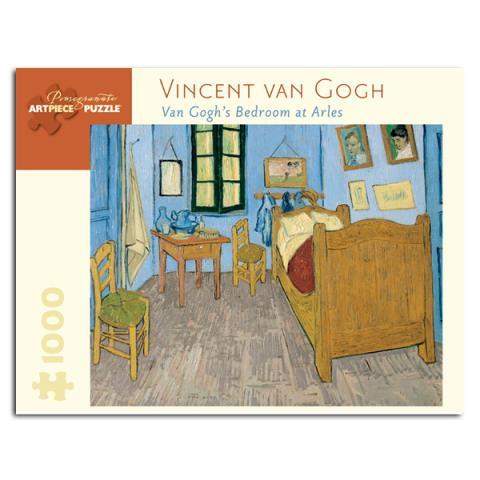 Van Gogh's Bedroom at Arles, 1889, by Vincent van Gogh jigsaw puzzle (1000 pieces)