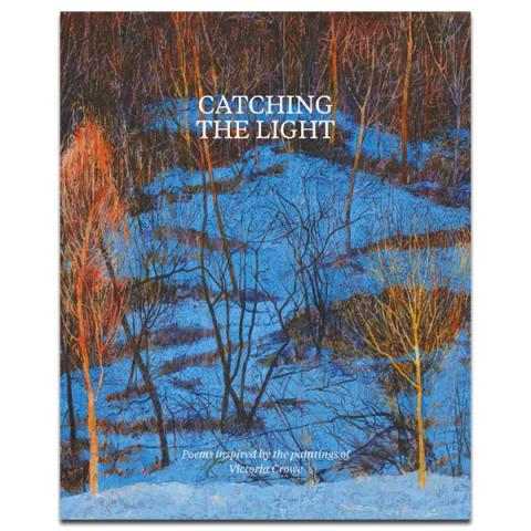 Catching the light | Victoria Crowe poetry book (paperback)
