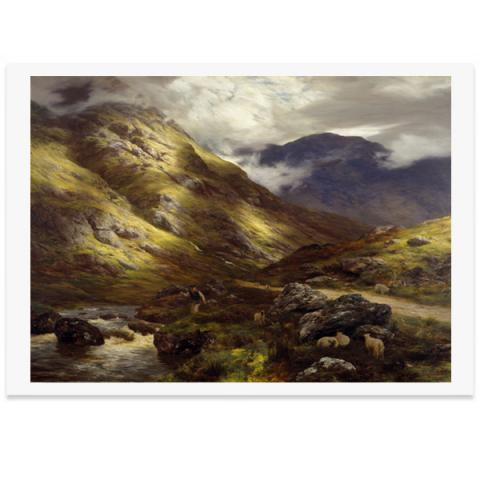 Wandering Shadows by Peter Graham poster print