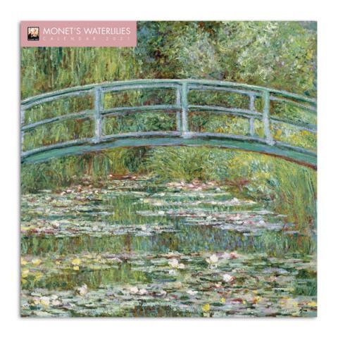 Waterlilies by Claude Monet 2021 wall calendar