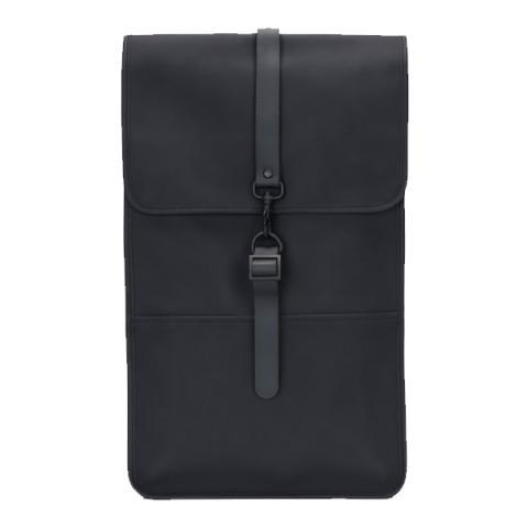 Waterproof black backpack