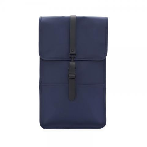 Waterproof blue backpack
