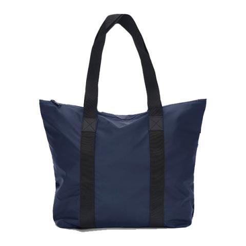 Waterproof blue tote bag