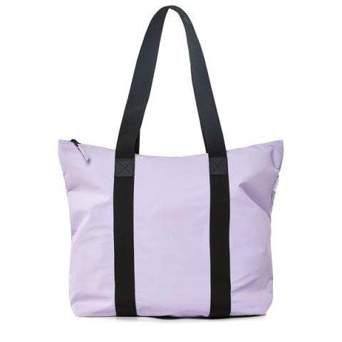 Waterproof lavender tote bag