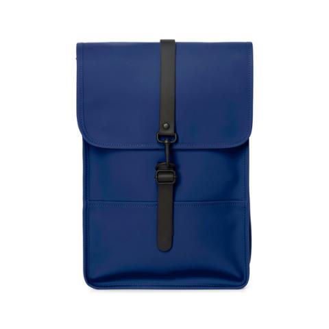 Waterproof medium size blue backpack