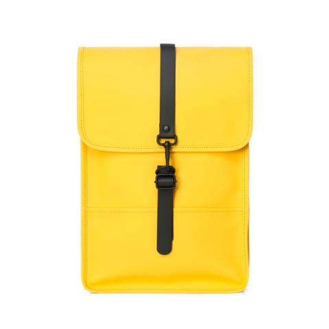 Waterproof medium size yellow backpack