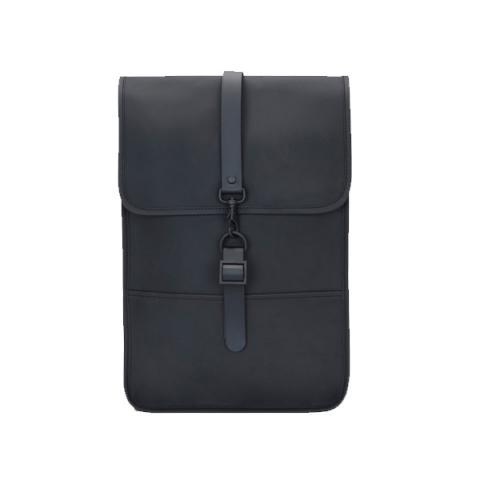 Waterproof medium size black backpack