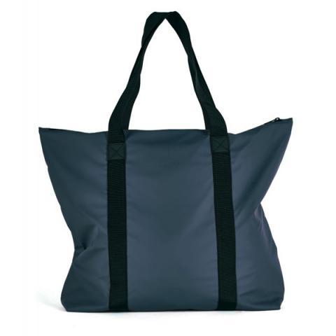 Waterproof navy large tote bag