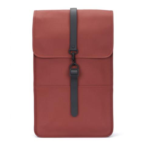 Waterproof scarlet red backpack
