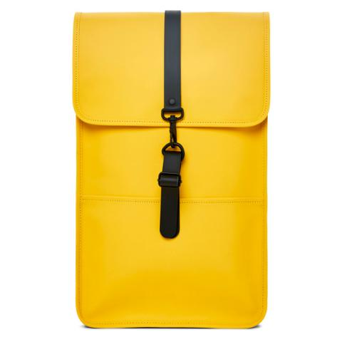 Waterproof yellow backpack