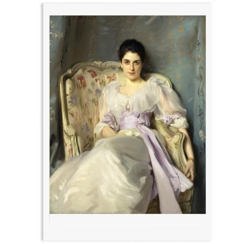 Lady Agnew of Lochnaw John Singer Sargent A3 Print