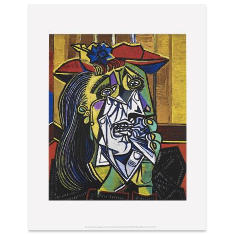 Weeping Woman by Pablo Picasso art print