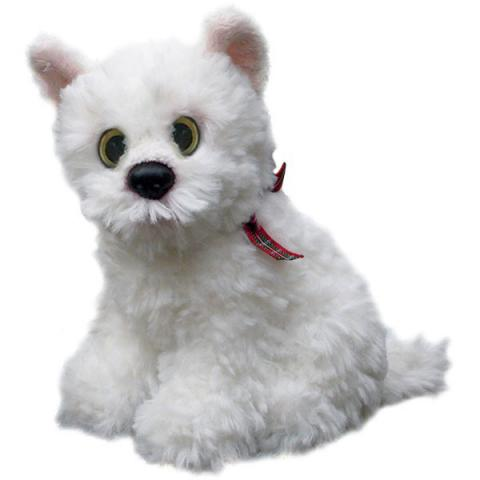 West Highland terrier small soft toy