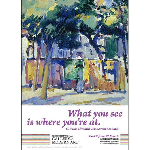 What you see is where you're at Part 2 'Veules-les-Roses' Exhibition Poster